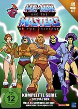 HE-MAN and the Masters of the Universe Complete Collection 14 DVD Box Set NEW