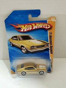 Hot Wheels 71 Maverick Grabber Ford Motor Company Toy Car Diecast Mattel