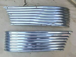 1941 Chevy Accessory FRONT FENDER SIDE TRIM MOLDINGS WASHBOARDS pair original -