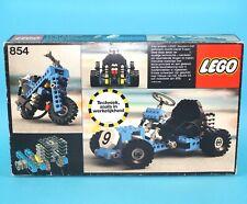 LEGO TECHNIC No 854 GO-KART ORIGINAL EMPTY BOX & INSTRUCTIONS 1980s DUTCH