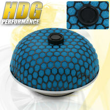 Universal Induction Air Filter Mushroom Mesh Cold Blue Performance 3