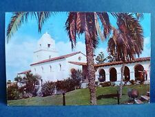 Postcard CA San Diego Junipero Serra Museum