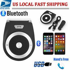 Wireless Bluetooth Handsfree Device Car Kit Stereo Speaker Phone Sun Visor Clip