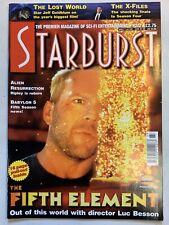 Starburst July 1997 Volume 19 No 11 Issue #227 Magazine Babylon 5 Fifth Element