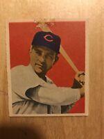 John Wyrostek Original 1949 Bowman Baseball Card # 37