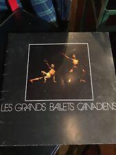 PROGRAM LES GRANDS BALLETS CANADIENS 1972-73 SEASON