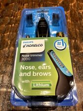NEW Philips Norelco Nose Hair Trimmer 3000, NT3000/49, Precision Groomer Black