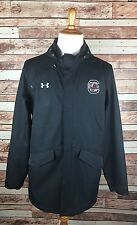 South Carolina Gamecocks Size L Under Armour NEW Winter Fall Black Coat Hood