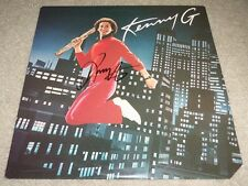 "KENNY G SIGNED SELF TITLED LP w/ VIDEO PROOF 12"" VINYL RECORD ALBUM JAZZ SAX"