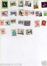 126 francobolli Polonia alcuni rari e antichi -