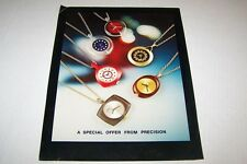 Vintage Preciscion Pendant Watches -  ad sheet #0068