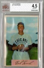 1954 Bowman Bob Rush #77 BVG Beckett 4.5 P477