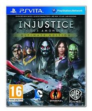 NEW Injustice: Gods Among Us Ultimate Edition (Sony PlayStation Vita)