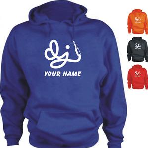 DJ YOUR NAME Custom Personalised New Hoodie
