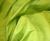 "Suede Upholstery Lime Micro Faux and Drapery Fabric by the yard 58"" Wide"