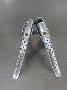 Vintage RALEIGH drillium drilled alloy brake levers