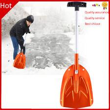 Aluminum Alloy Telescopic Snow Shovel Detachable Ice Removal Cleaning Shovel
