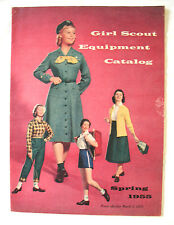 CATALOG 1955 EUC Girl Scout Uniforms Equipment Jewelry Collectors GIFT BOOK