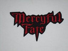 MERCYFUL FATE IRON ON EMBROIDERED PATCH