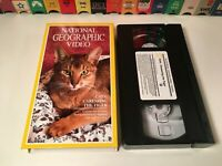 Cats: Caressing The Tiger VHS 1991 National Geographic Joseph Campanella