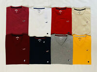 HOLLISTER Men's Must-Have Slim Fit V-Neck/ Crew Neck T-Shirt Tee S M L XL