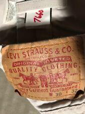Levi's 505 men's pants 30W x 32W cotton mid-rise straight zip fly