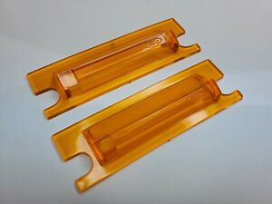 NOS Ford 1969-1971 MUSTANG + TORINO  Amber Turn Signal Lens For Hood Scoop PAIR