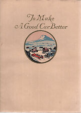 To Make a Good Car Better Using Copper Brass and Bronze Vintage 1920's Booklet