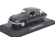 Atlas 1/43 Citroen DS23 DS 23 presidente Valery Giscard d'estaing Negro 1974