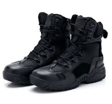 US Tactical Leather Combat Military Ankle Boots Men Army Shoes Cheap Cool Guy
