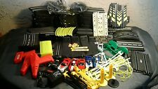 LARGE LOT OF ARTIN SLOT CAR TRACK 1:43 w/ cars and more