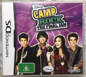 Nintendo DS Game - Disney Camp Rock: The Final Jam Jonas - Complete With Manual