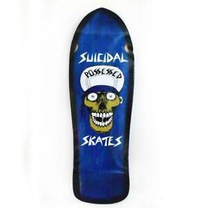 "Dogtown x Suicidal Skates Punk Skull Reissue Skateboard Deck 10"" x 30.75"""
