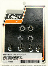 Harley 36-46 Beehive Tail Lamp Mount Kit Colony 9813-12