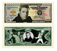 "50 Elvis Presley Novelty Million Dollar Bills with ""Thanks a Million"" Gift Set"