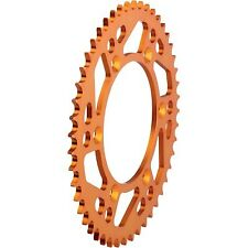 Moose Racing - M5254-47O - Aluminum Rear Sprocket, Orange - 47T KTM 250 XC-F,250