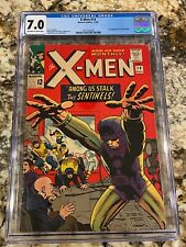 X-MEN #14 CGC 7.0 OW-WH PGS 1ST APPEARANCE OF THE SENTINELS HOT MCU MOVIE HI END