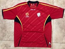 Rare Adelaide United Fc Soccer Jersey By Reebok Mens Size Xxl A-League Hyundai