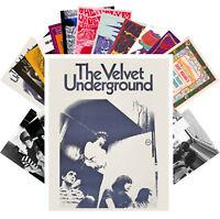 Postcards Pack [24 cards] Velvet Underground Rock Music Vintage CC1279