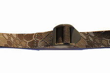 UKOM 1 Metre Utility Strap 25mm Desert Kryptek Nomad quick release (100% UK Made