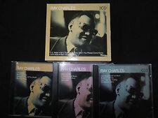 COFFRET 3 CD RAY CHARLES