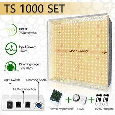 Mars Hydro TS1000W LED Grow Light Full Spectrum for Indoor Veg Flower Plant Lamp