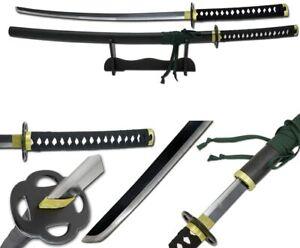 Snake Eye Tactical Two Tone Samurai Katana Sword w/Free Sword Stand