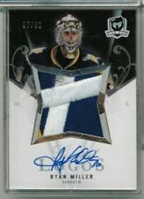 07/08 Upper Deck The Cup Ryan Miller Limited Logo Patch Auto #ed 07/50