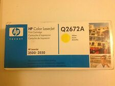 BRAND NEW, NEVER OPENED!! HP Laserjet Q2672A OEM toner IN RETAIL PACKAGE!!!