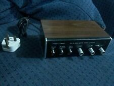 More details for vintage realistic sa-10 solid state stereo amplifier radio shack tandy used
