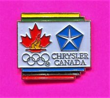 1996 OLYMPIC CHRYSLER CANADA PIN TEAM CANADA PIN NOC PIN