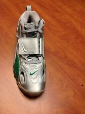 Nike Air Max Speed Turf Metallic Silver Green Shoes 525225-001 Men's US Size 12