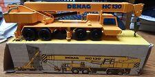 OLD #240 NZG DEMAG HC130 TELESCOPIC TRUCK CRANE IN BOX 1/50 SCALE LQQK