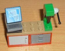 Lego Friends / City -  Möbel - 1 Werkbank mit Computer